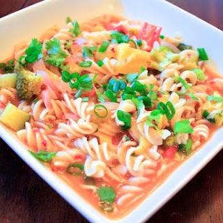 Miso Ginger Broth & Noodles