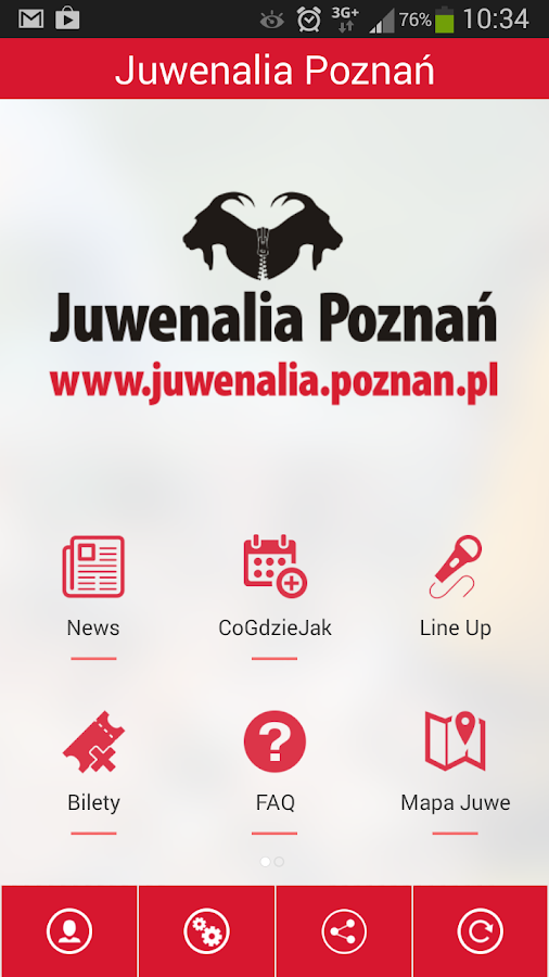 Juwenalia Poznań- screenshot