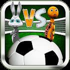 Football Game 3D : Hare VS Turtle Plenty Shoots icon
