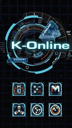 K-Online GO LAUNCHER THEME