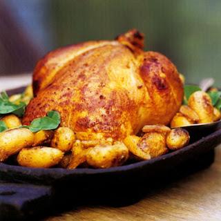 Tandoori-Style Roast Chicken.