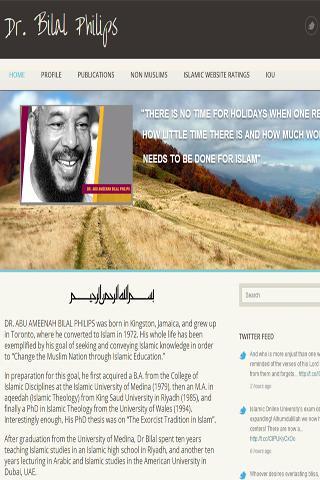 Dr. Bilal Official Website