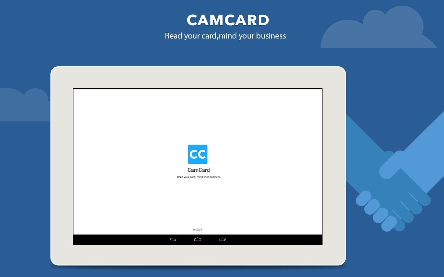 CamCard Free - Business Card R- screenshot