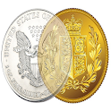 Precious Metal Coin App Free icon