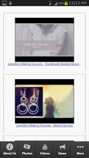 Jewellery Making Courses - screenshot thumbnail