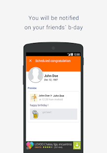 BSF: Birthday Scheduler for Fb - screenshot thumbnail