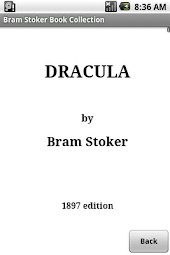 Bram Stoker Book Collection