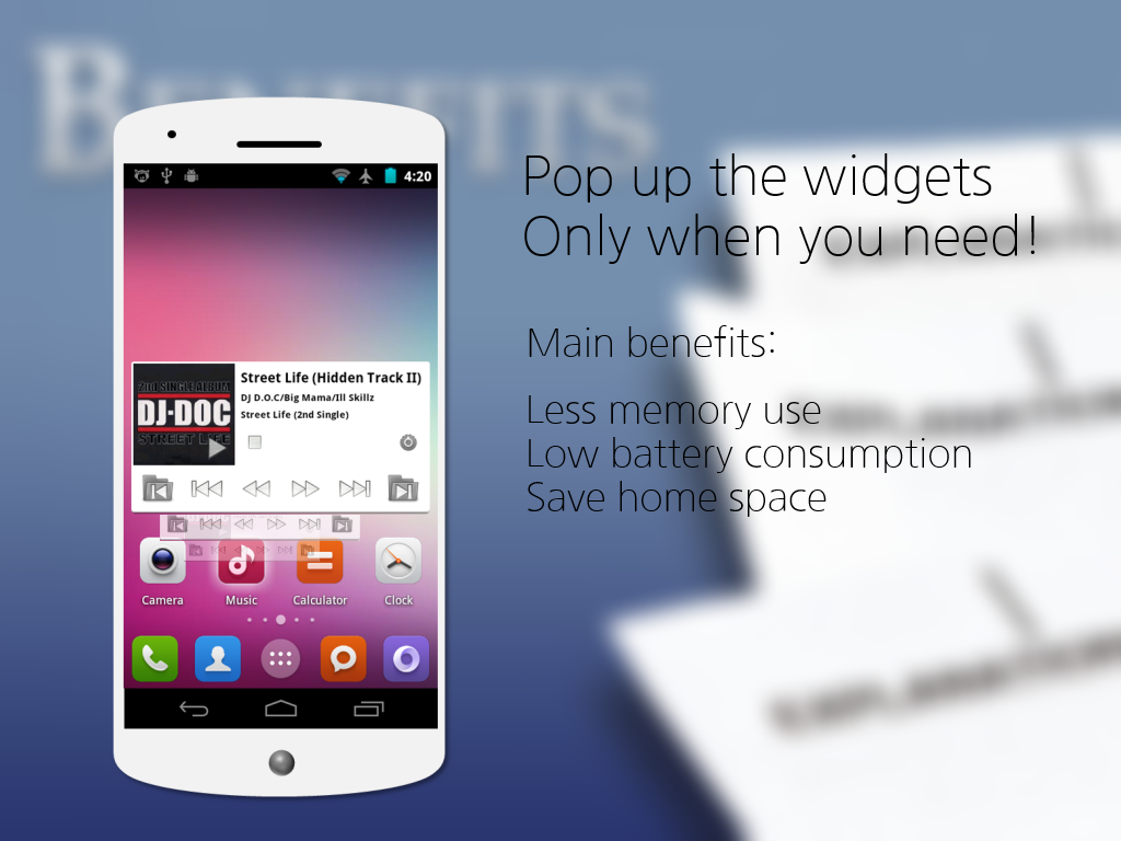 Popup Widget 2 - screenshot