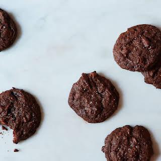 Bittersweet Chocolate, Orange and Cardamom Cookies.
