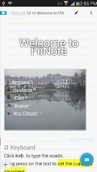 FiiNote, note everything