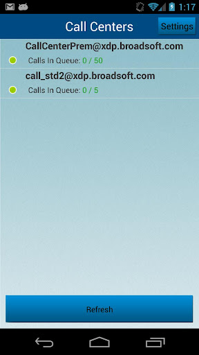 Call Queue Manager