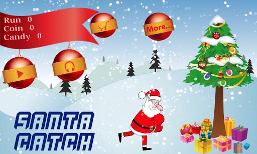 Santa Catch 2014 Kids Games
