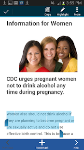 CDC FASD- screenshot thumbnail
