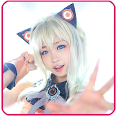 Cosplay Anime Puzzle Game