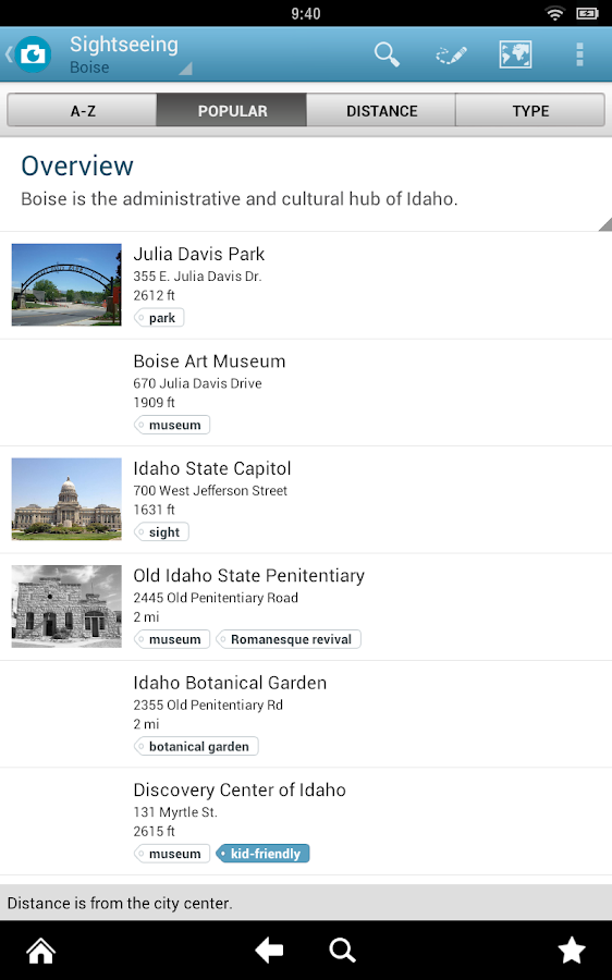 Idaho Travel Guide by Triposo- screenshot
