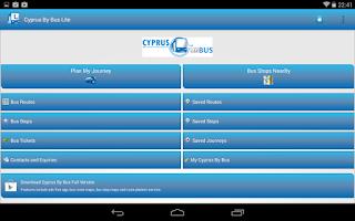 Screenshot of Cyprus By Bus Lite