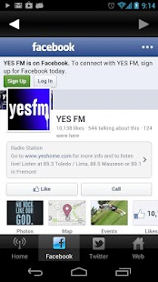 Yes FM- screenshot thumbnail