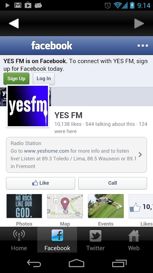 Yes FM- screenshot