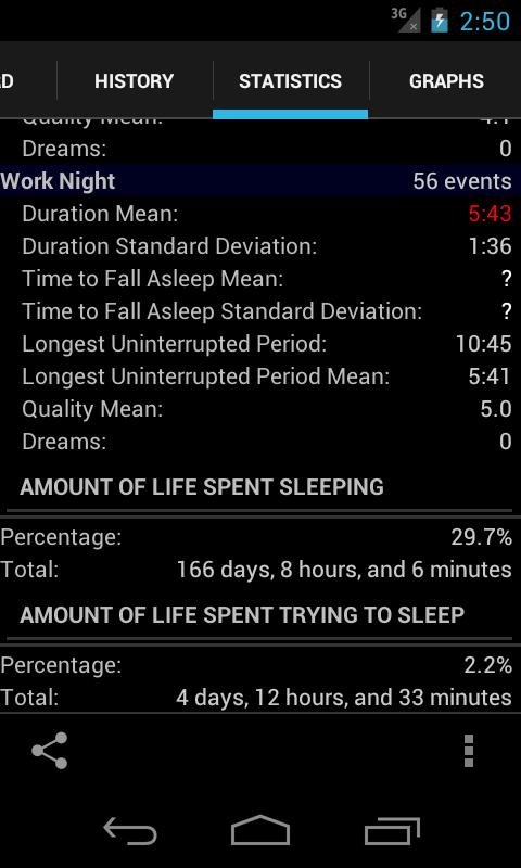 Sleepmeter Free - screenshot