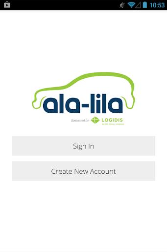 alalila - mobile booking app