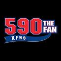 590 KFNS logo