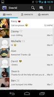 Screenshot of Cnectd Messenger - Chat & Text