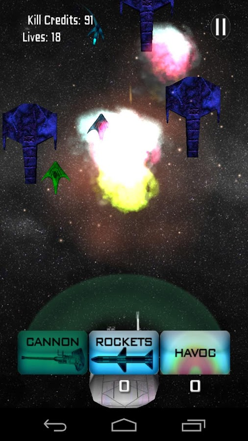 Planet Shield Space Defense - screenshot