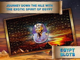 Screenshot of Egypt Slots Casino Machines
