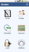 Screenshot of Grades: Student Organizer