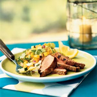 Pork Tenderloin with Spicy Guava Glaze