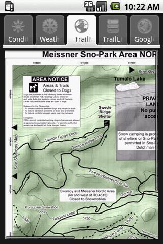 Meissner Snow Park- screenshot