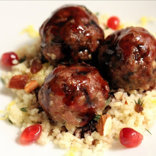 Almond and Date Couscous.
