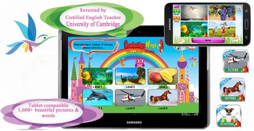Cambridge Starters Free