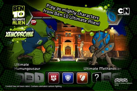 Ben 10 Xenodrome- screenshot