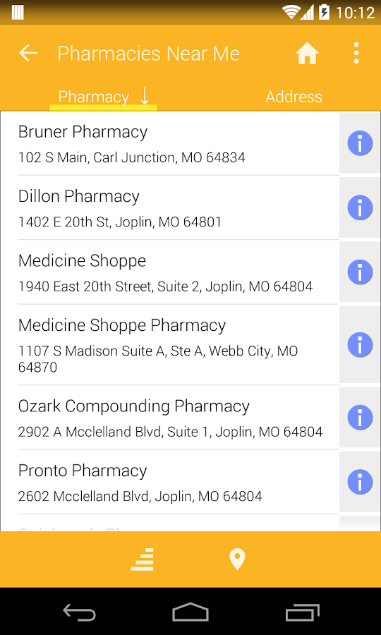 Pharmacy Discounts- screenshot