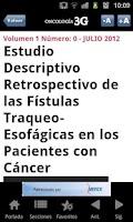Screenshot of Oncologia3G