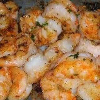 Garlic Parmesan Shrimp.