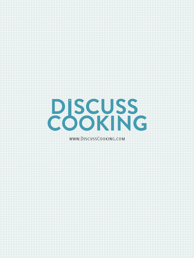 Discuss Cooking- screenshot