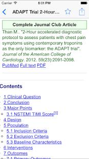 WikEM - Emergency Medicine Screenshot 3