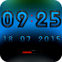 A-ALPHA Digital Clock Widget