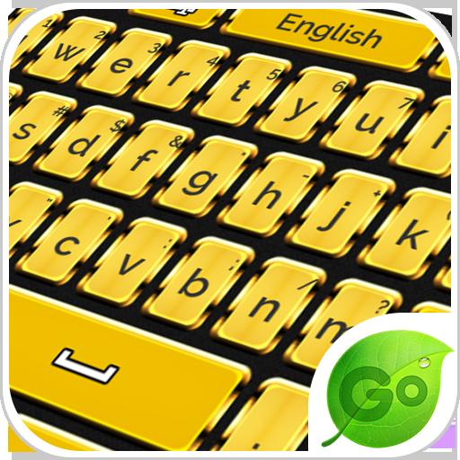 个人化のGold Keyboard LOGO-記事Game