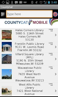 CountyCat Mobile Catalog- screenshot thumbnail