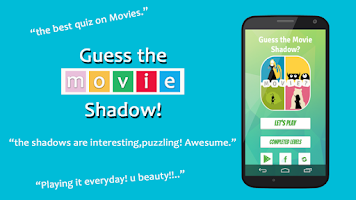 Screenshot of Movie Mania: Guess the Shadow
