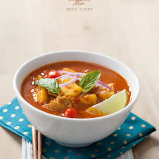Thai Red Duck Curry.