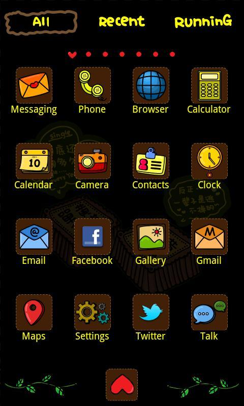 single Theme GO Launcher EX - screenshot