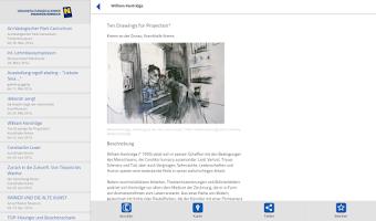 Screenshot of Events Niederösterreich