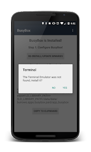BusyBox Install Pro (No Root) - screenshot thumbnail