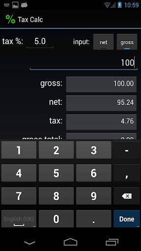 Percentage Tax Calculator