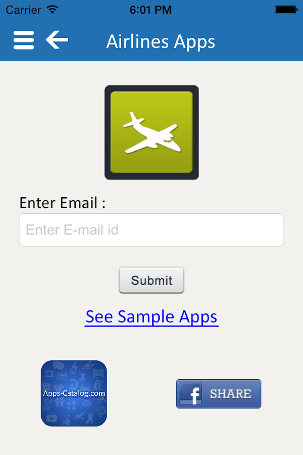 Apps Catalog - App of the Apps - screenshot
