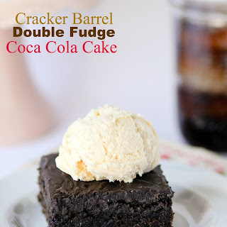 Cracker Barrel Double Chocolate Coca Cola Cake
